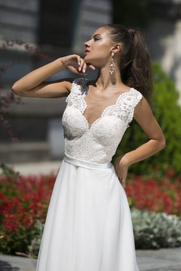 abito da sposa modello Charlotte
