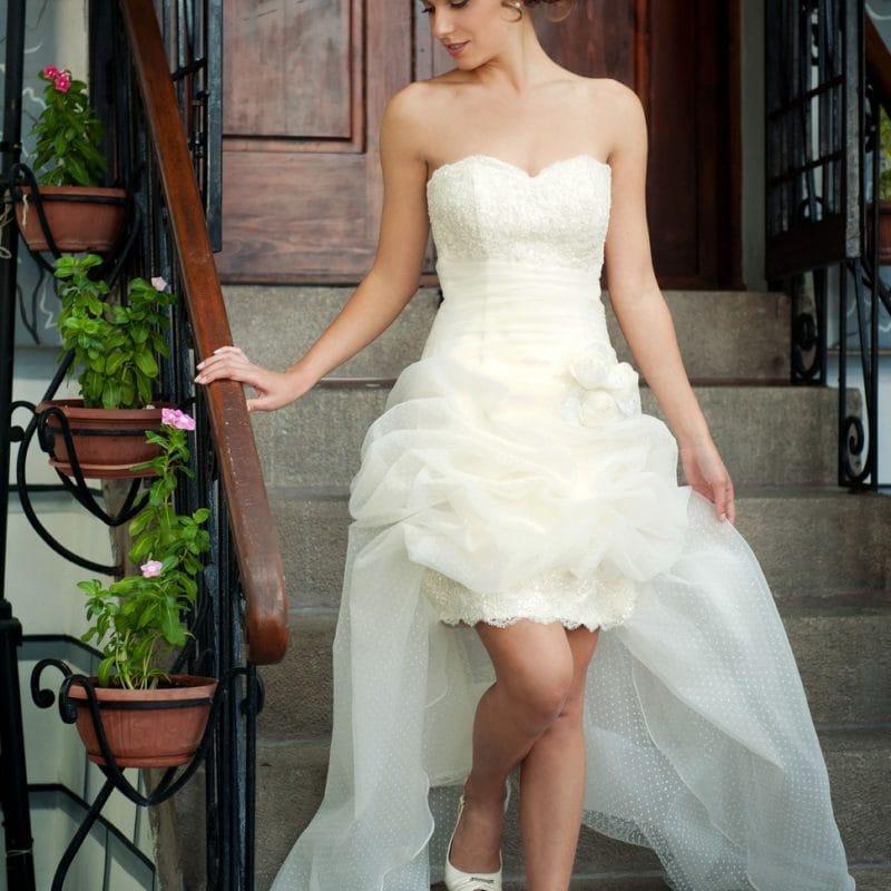 abito da sposa corto, Nice
