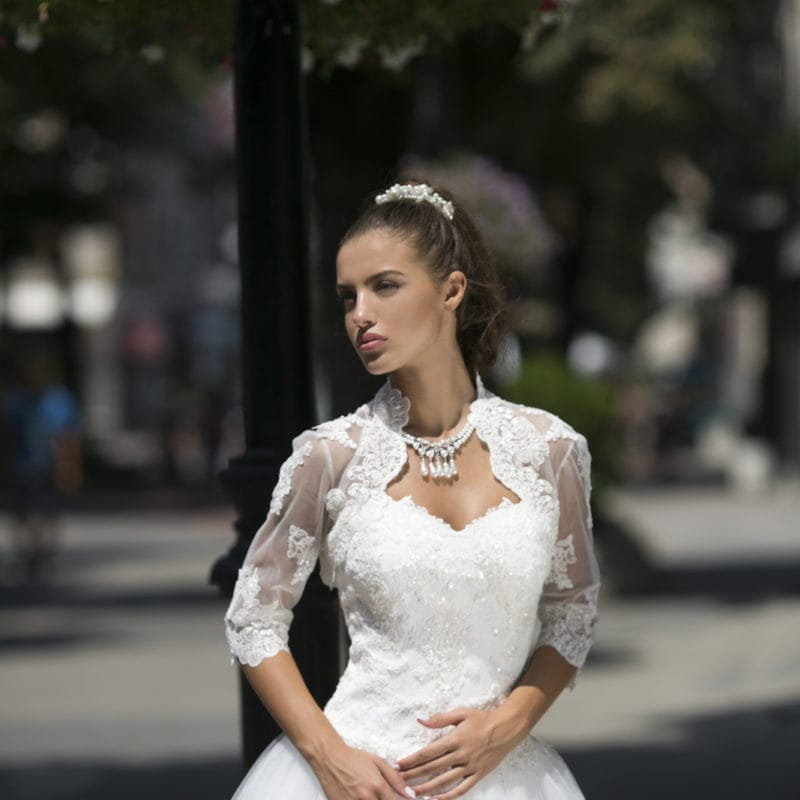 L articolo selezionato è già presente nella tua lista dei desideri! Sfoglia  la lista dei desideri · abito da sposa modello Violetta 5c35ecc6679