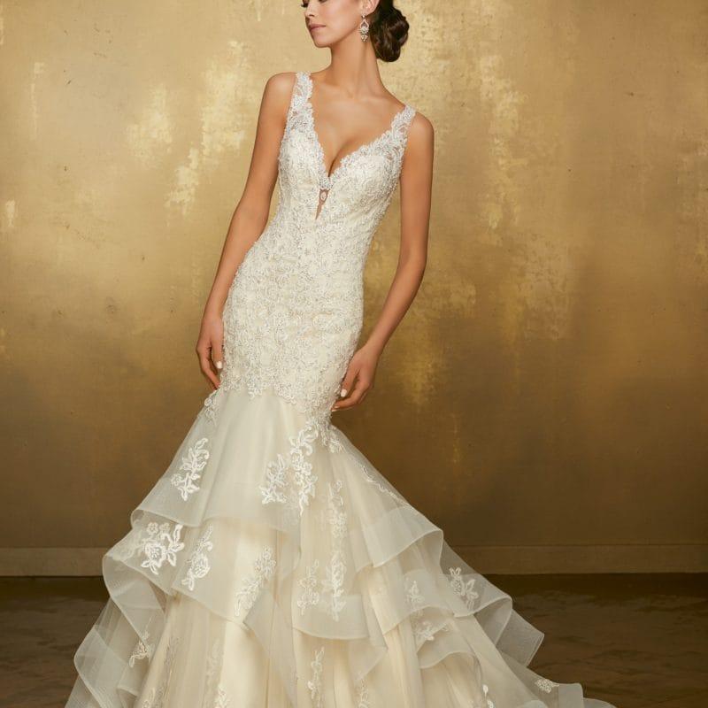 51316 abito da sposa a sirena