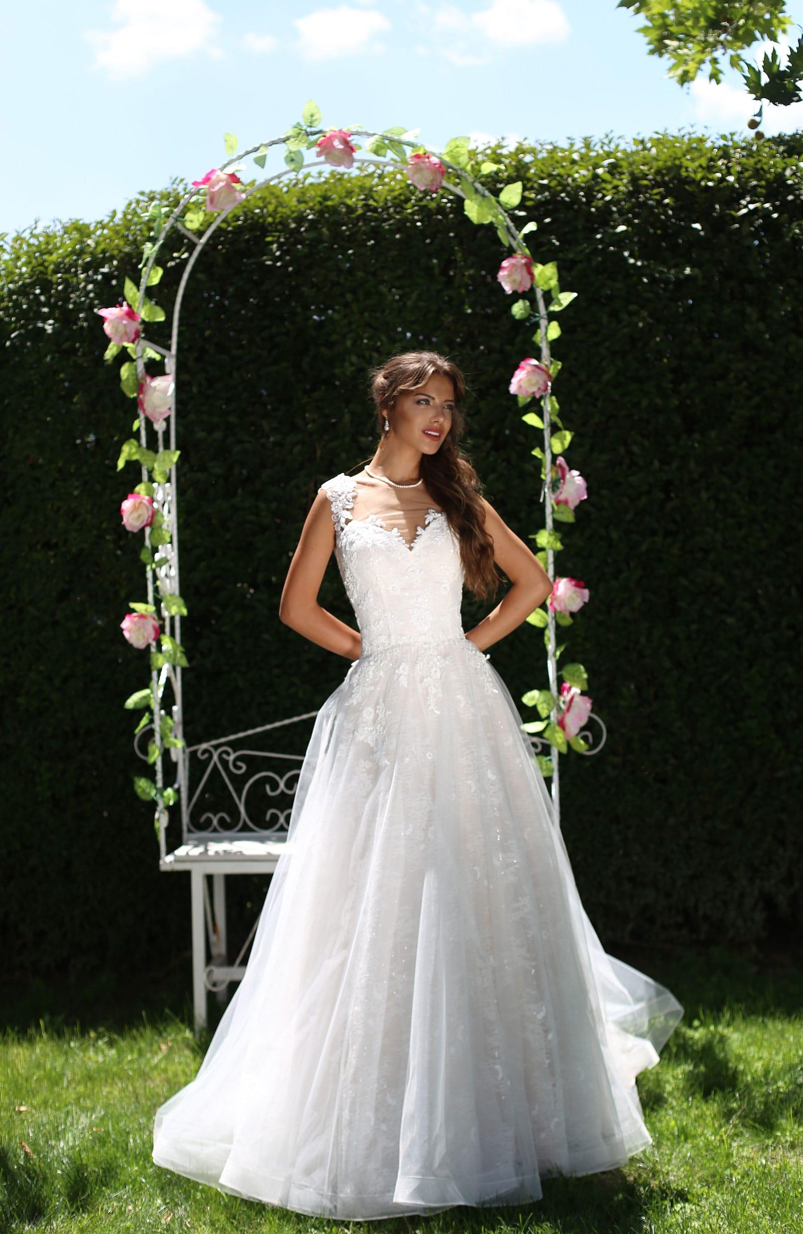 abito da sposa modello Amy