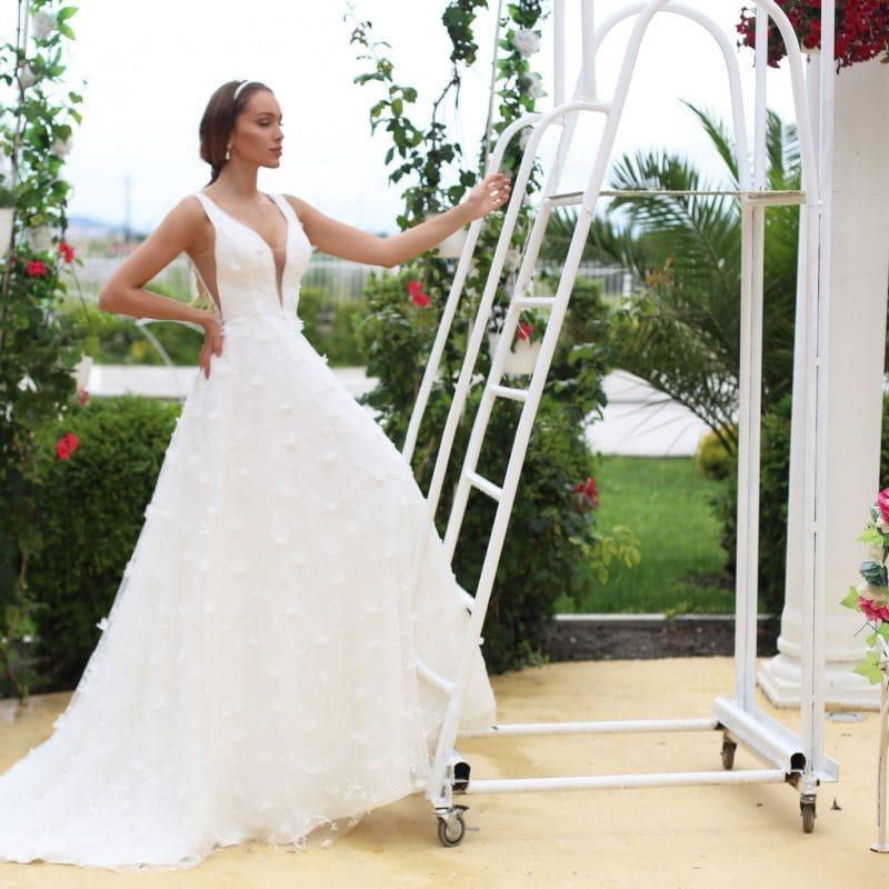 abito da sposa modello Emrys