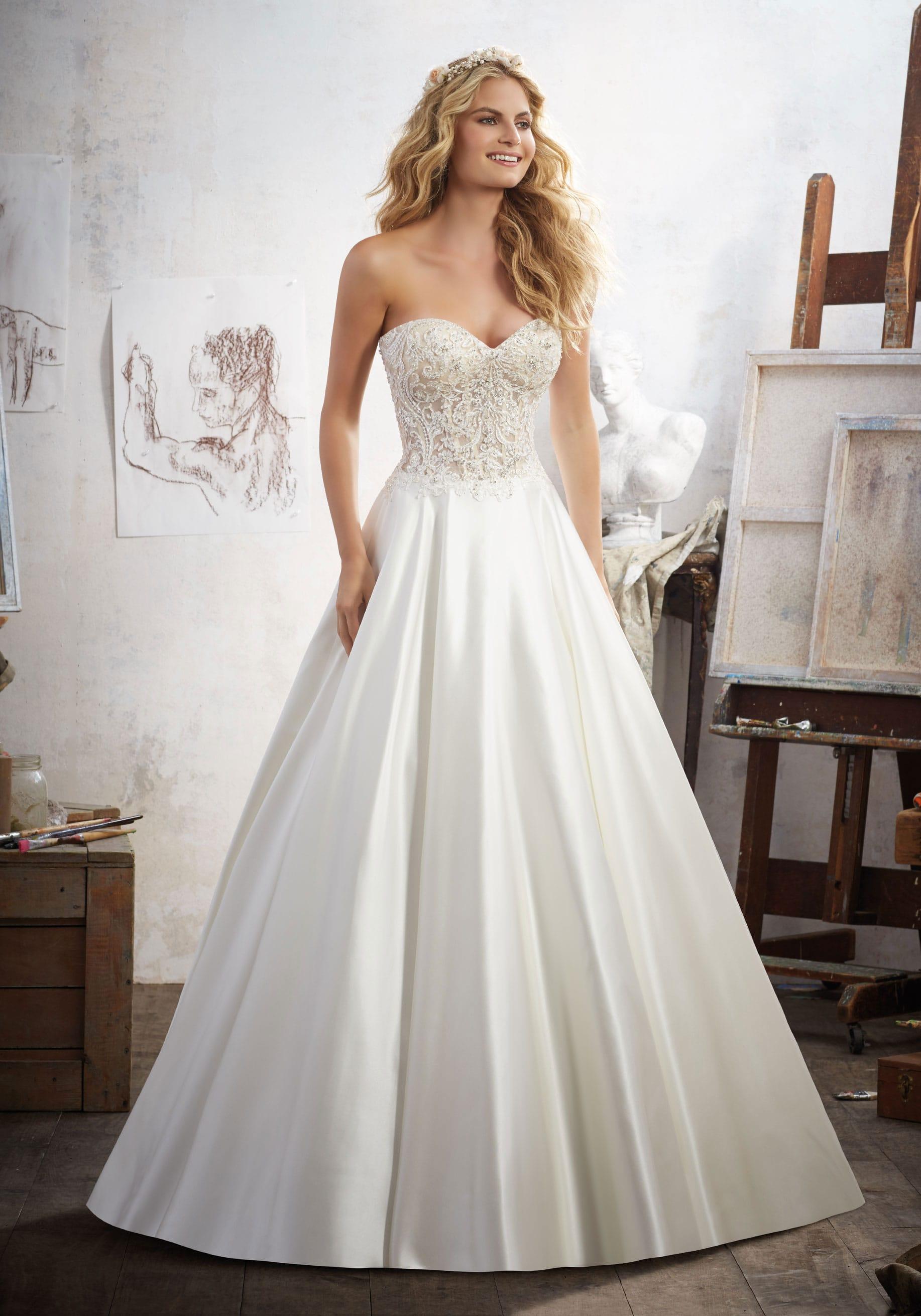 abito da sposa 8114