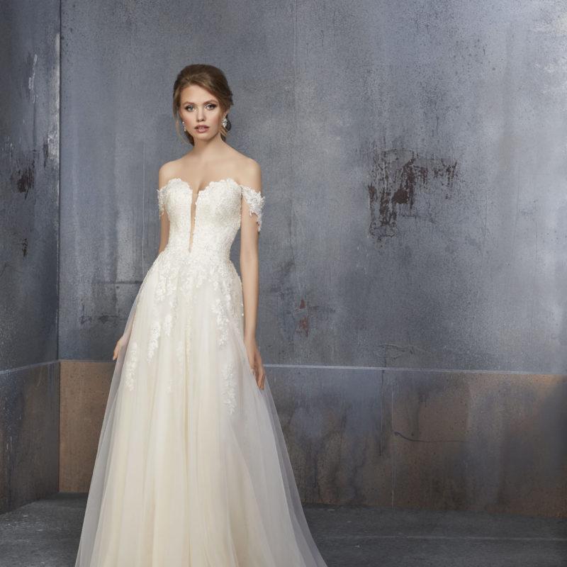 51516 , abito da sposa scivolato