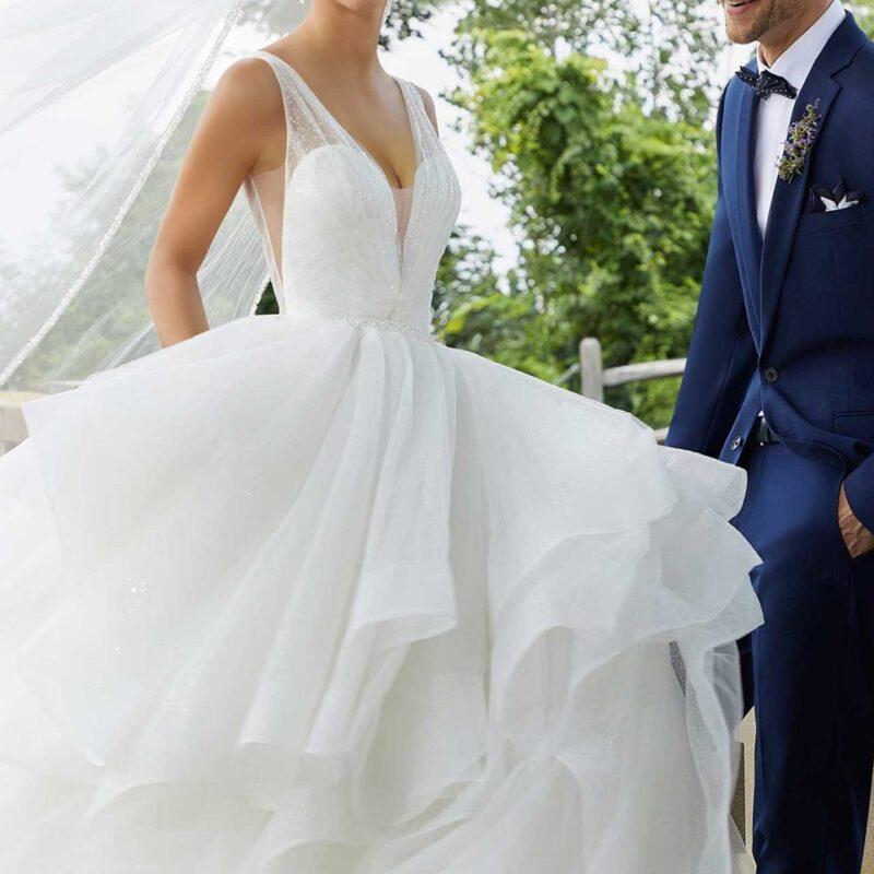 5818 -abito da sposa