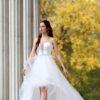 Mia - abito da sposa corto davanti